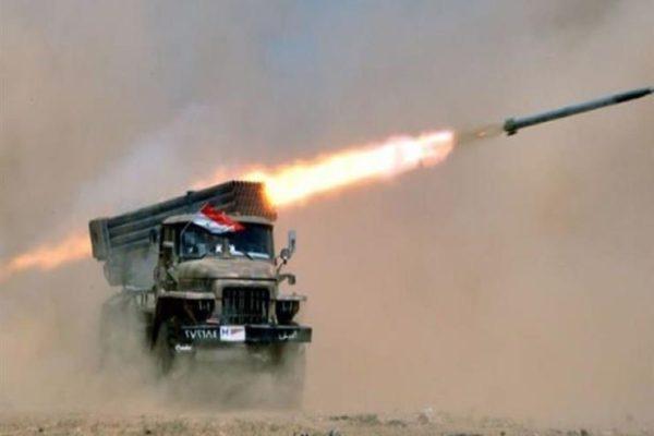 الجيش السوري يدمر معسكرات لإرهابيين من جنسيات أجنبية في ريف إدلب
