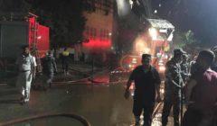مصدر: حصر خسائر كنيسة الأنبا بولا بعد انتهاء عمليات التبريد