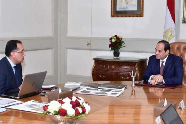 استعدادًا للعام الجديد.. السيسي يجتمع بمدبولي وزير التعليم العالي