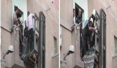 """""""هدموا جزء من الشباك"""".. الحماية المدنية تستجيب لإغاثة مريض وتنقله للمستشفى"""