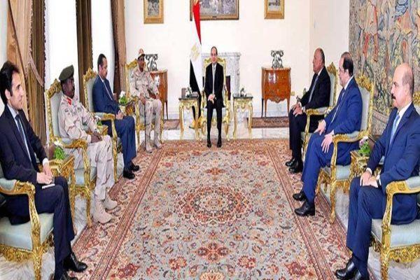 السيسي: مصر تساند إرادة وخيارات الشعب السوداني في صياغة مستقبله