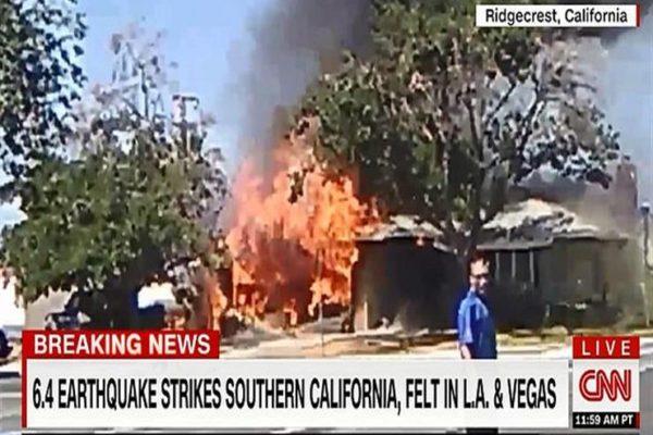 مسئول أمريكي: طواقم الإنقاذ تستجيب لـ24 حريقا بعد زلزال كاليفورنيا