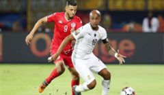 مباشر. تونس 1 – 0 غانا.. الخنيسي يتقدم لنسور قرطاج