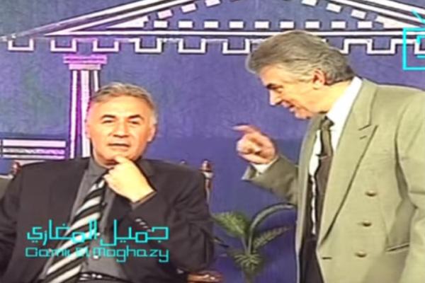 فيديو نادر - أمنية عزت أبو عوف لابنه وابنته .. شاهد