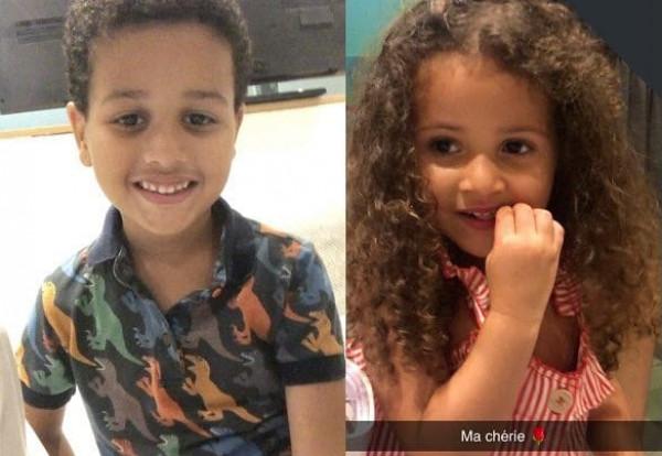 ظهور طفلي محمد عبده للمرة الأولى .. نُسخ مُصغرة عنه - شاهد بالصور