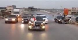 حادث مروع خلال زفة عروس (شاهد بالفيديو)