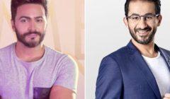 هل سيجتمع تامر حسني وأحمد حلمي معاً في فيلم سينمائي جديد؟ - التفاصيل بالصور