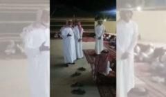 """شاهدوا بالفيديو - والد فتاتين بالجوف يدهش الجميع بتحوَّل خطوبة ابنتيه إلى """"زفاف مفاجئ"""""""