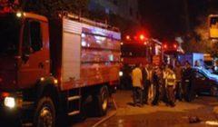 حريق في مخزن شركة مشروبات غازية شهيرة بأكتوبر.. والدفع بـ8 سيارات إطفاء
