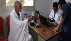 عيادات البعثة الطبية للحج تستقبل 75319 حاجاً مصرياً