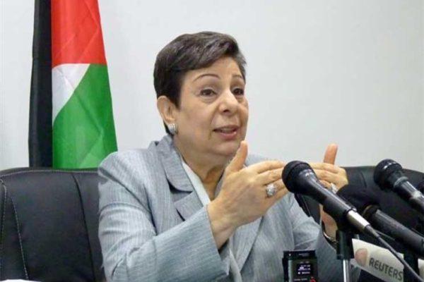"""حنان عشراوي: قرار إسرائيل منع طليب و عمر من زيارة فلسطين """"عمل شائن وعدائي"""""""