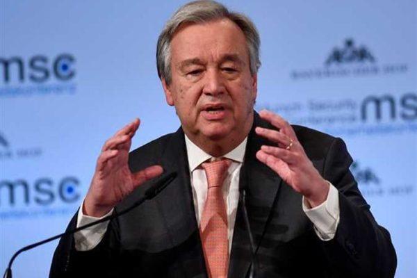 الأمين العام للأمم المتحدة يعرب عن قلقه العميق إزاء الاشتباكات العنيفة في عدن