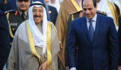 أمير الكويت للسيسي: نتمنى لمصر دوام التقدم والاستقرار