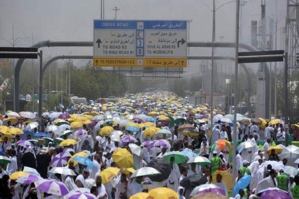 بالفيديو  أمطار رعدية على مكة.. والسعودية توجه نصائح للحجاج