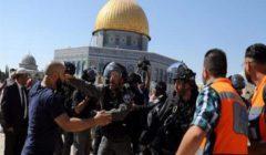 الأوقاف الفلسطينية تندد بطرد الاحتلال للمصلين من المسجد الأقصى