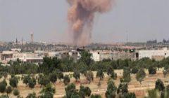 تقرير حقوقي : 7 قتلى في قصف جوي للنظام على قرية جنوب إدلب