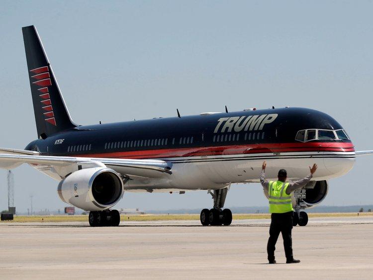 طائرة دونالد ترامب