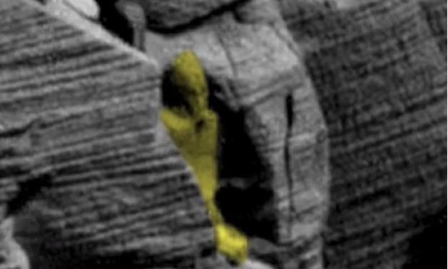 مفاجأة مذهلة.. العثور على آثـار فرعونية وتابوت على سطح كوكب المريخ !!! (بالفيديو والصور)