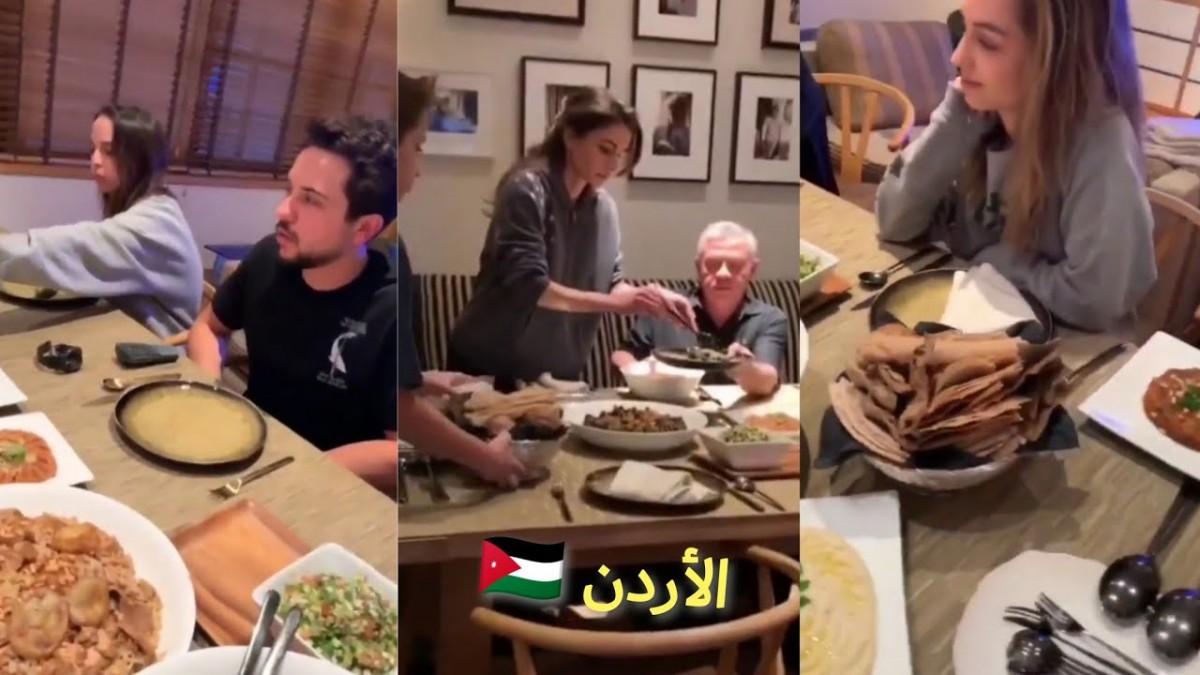 طعام الملكة رانيا