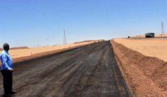 """""""النيل للطرق"""": انتهاء تنفيذ ازدواج 9 كم بالطريق الصحراوي الغربي في أسوان"""