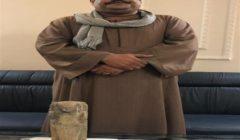 ضبط عامل وبحوزته طبنجة غير مرخصة وتمثال يشتبه في أثريته بسوهاج