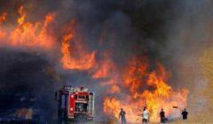 لبنان: حرائق تطال المزروعات في أماكن القصف الإسرائيلي للقرى الجنوبية
