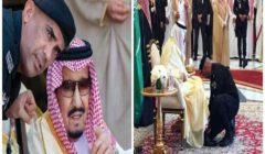 """ربط له حذاءه بقمة الرياض.. مواقف """"أبوية"""" بين الملك سلمان وحارسه الشخصي"""