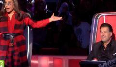 """فيديو- أحلام تبدأ أولى حلقات  The Voice 5 بـ""""بلوك"""" لراغب علامة ... والأخير يتوعد !!! .. شاهد"""