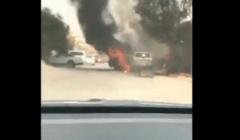 شاب يضحي بسيارته لإنقاذ منزل من الحريق: قام بعمل بطولي (فيديو)