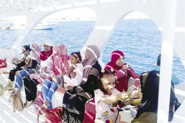 رحلات ترفيهية لمرضى «الفشل الكلوى» فى البحر الأحمر