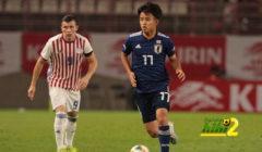 كوبو يبدع في فوز اليابان الودي أمام باراجواي