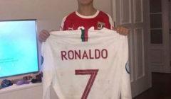 رونالدو يهدي قميصه لابن ماتيتش