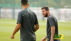ميسي يواصل التدرب مع برشلونة بفرصة ضعيفة للحاق بمواجهة دورتموند
