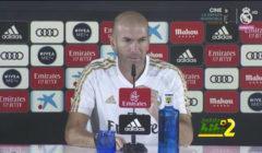 فيديو: زيدان يتعامل بحزم مع سؤال صحفي راديو ماركا حول فاسكيز