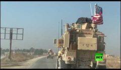 أرتال أمريكية تعبر بالقرب من نقطة للجيش السوري بالحسكة (صور وفيديو)