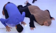 """""""أوفر قوي""""... تعليقات ساخرة من الجمهور على سقوط والدة المتسابقة المصرية بعد فوزها في ذا فويس!! (فيديو)"""