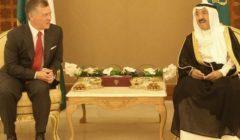 أمير الكويت والعاهل الأردني يبحثان المستجدات على الساحة الإقليمية والدولية