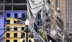 قتيل و19 مصابا في انهيار فندق تحت الإنشاء بولاية لويزيانا الأمريكية
