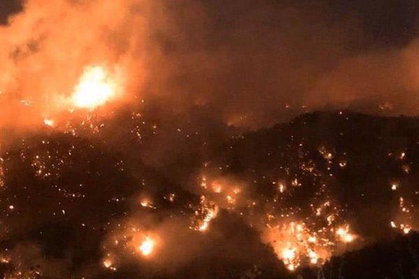 لبنان يستعين بطائرات من دول الجوار لإخماد الحرائق