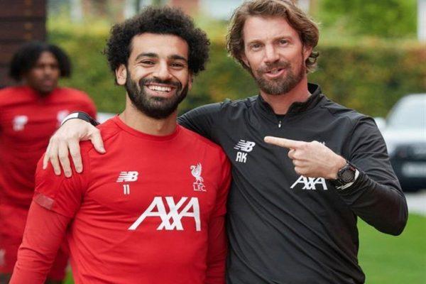 صلاح يعود لتدريبات ليفربول قبل موقعة يونايتد بالدوري الإنجليزي