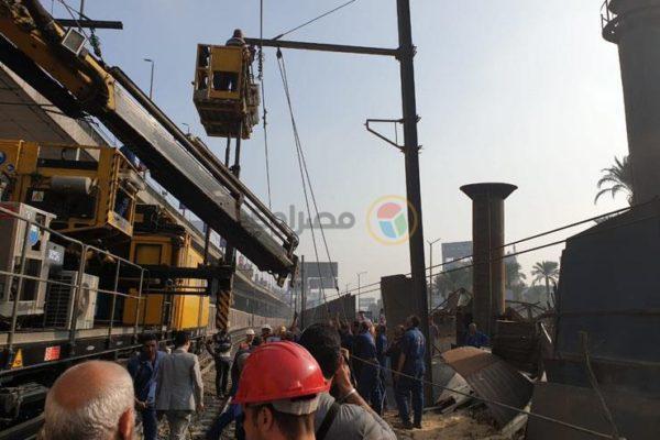 """تأثرًا بسقوط """"رافعة ونش"""" بالمترو.. تكدس مروري في شوارع القاهرة"""