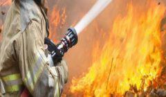 إخماد حريق فنطاس مُحمل بـ30 طن بنزين أعلى الدائري الإقليمي