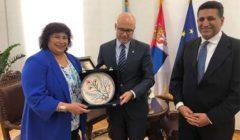 """صربيا تطلب مشاركة مصر باحتفالات اختيار """"نوفي ساد"""" عاصمة للثقافة ٢٠٢١"""