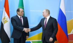 بوتين: السيسي لعب دورا كبيرا في الإعداد لقمة سوتشي كرئيس للاتحاد الأفريقي