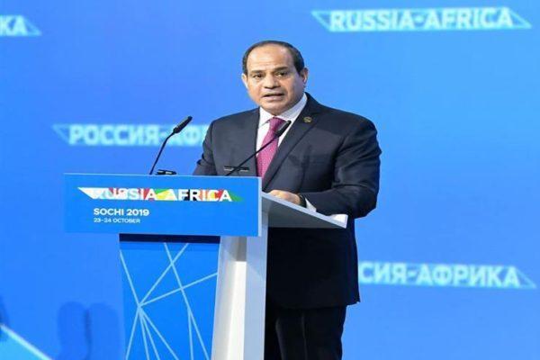 اليوم.. السيسي يستعرض الرؤية الإفريقية تجاه التعاون مع روسيا