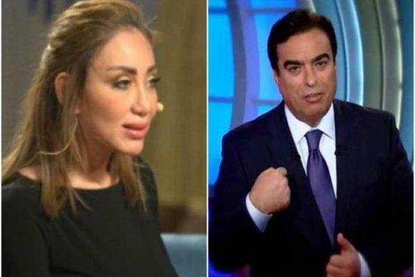 """""""أنت اتجننت"""".. ريهام سعيد تُهاجم جورج قرداحي (فيديو)"""