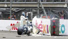 حادث سائق مرسيدس يتسبب في تجريد سائق ريد بول من مركز الانطلاق الأول بفورمولا-1 المكسيكي