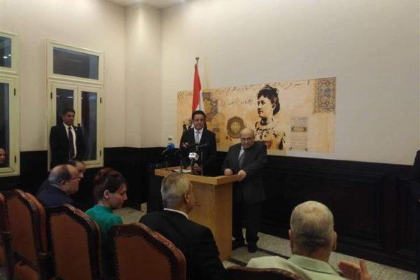 الفقي يثمن جهود محافظة القاهرة في ترميم قصر الأميرة خديجة