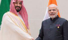 ولي العهد السعودي ورئيس وزراء الهند يبحثان المستجدات الإقليمية والدولية