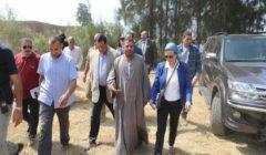 وزيرة البيئة تشيد بوعي المزارع في الاستفادة من قش الأرز